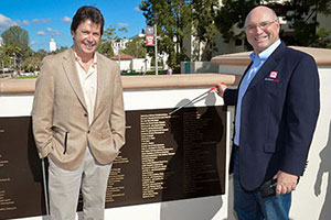 Quantum Design Recognized on Donor Wall at San Diego State University
